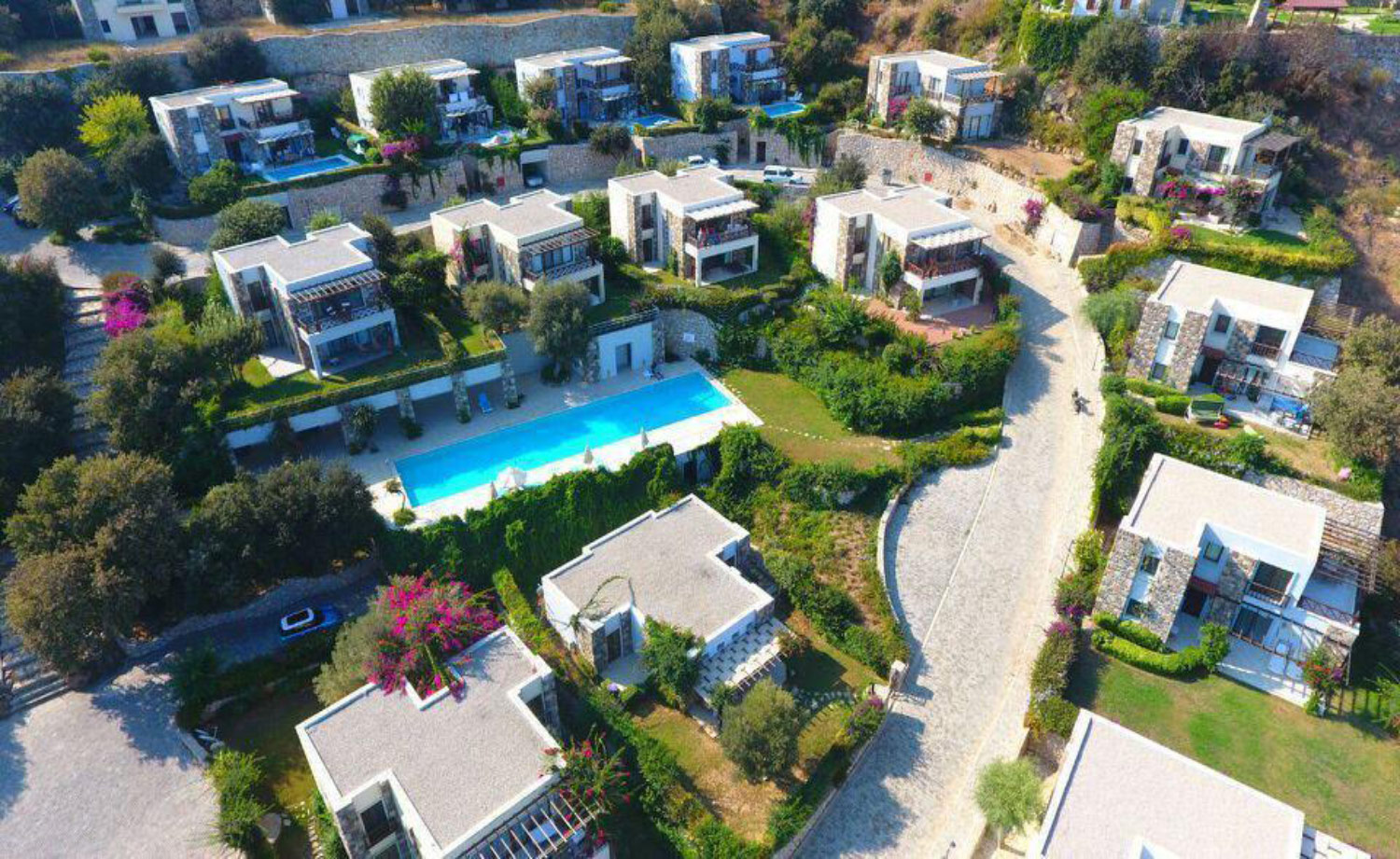Seafront Villas in Bodrum