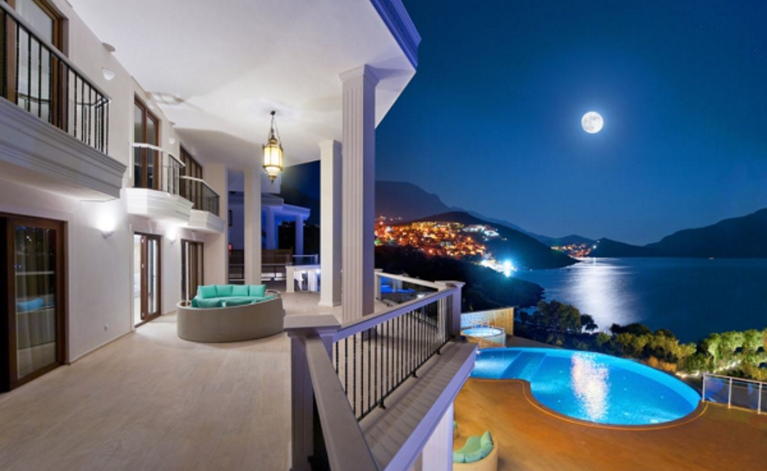 Amazing Sea View Luxury Villa in Kalkan