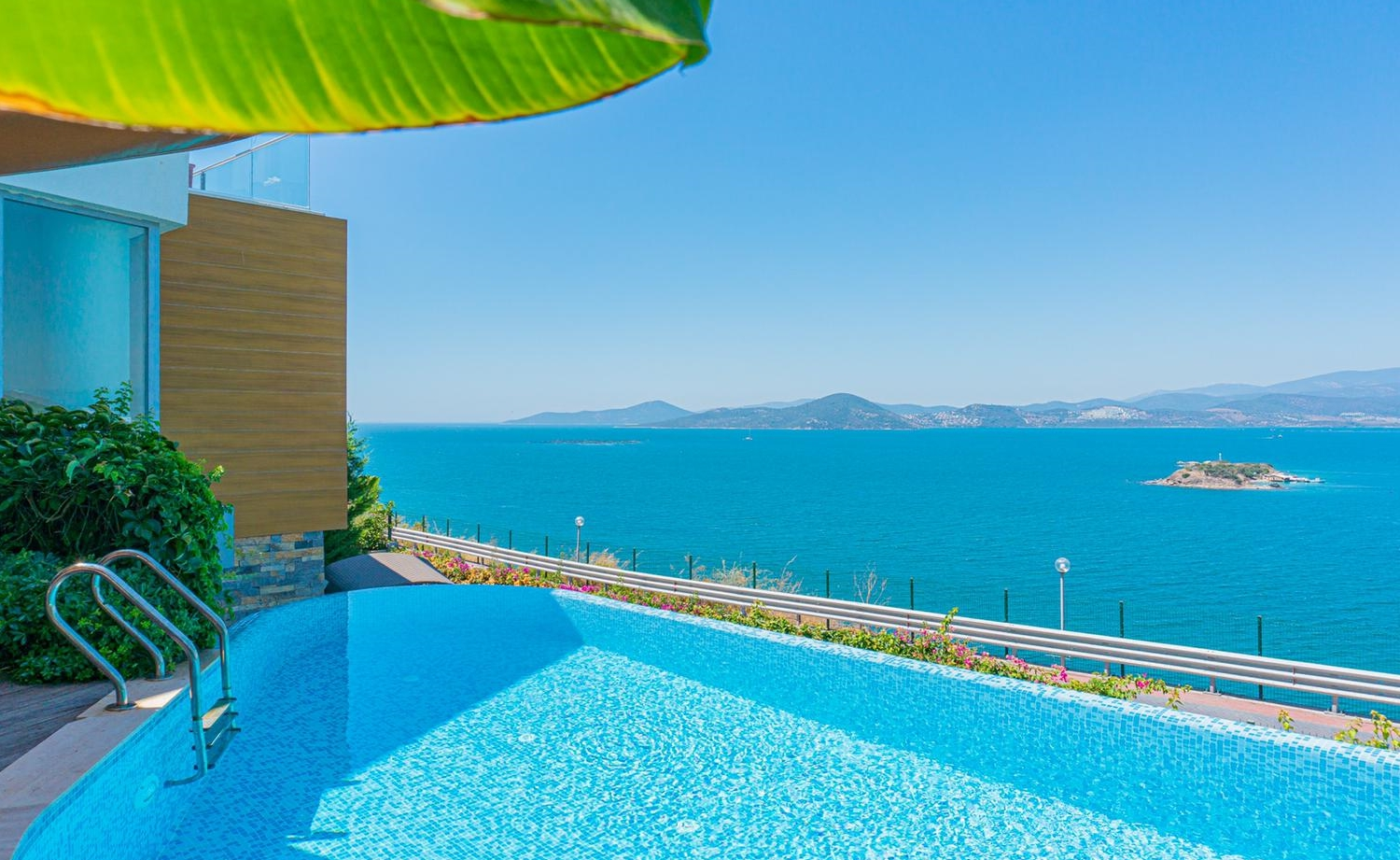 Villa With A Great View Of Adabükü, Bodrum